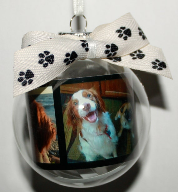 Items similar to Personalized Pet Christmas Ornament on Etsy