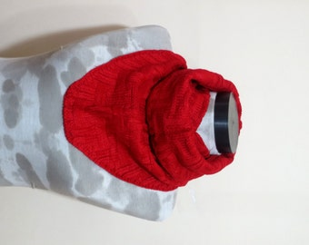 Valentine's Day-SALE-Machine knit Scarf Men - Winter Scarf Mens Chunky Cowl, Man, guys,red  neck warmers, scarves
