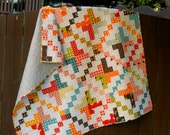 """Digital pdf Quilt Pattern - On a """"Jelly Roll - Baby Quit - Toddler Quilt - Lap Quilt - Jelly Roll Pattern -Easy Quilt Pattern"""