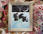 "8x10 The Little Mermaid ""Sea & Sky"" art print - signed"