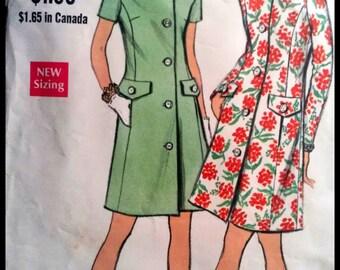 Vogue 7738  Misses' One Piece Dress  Size 12
