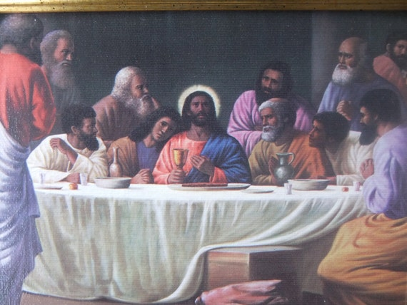 Black Jesus at The Last Supper