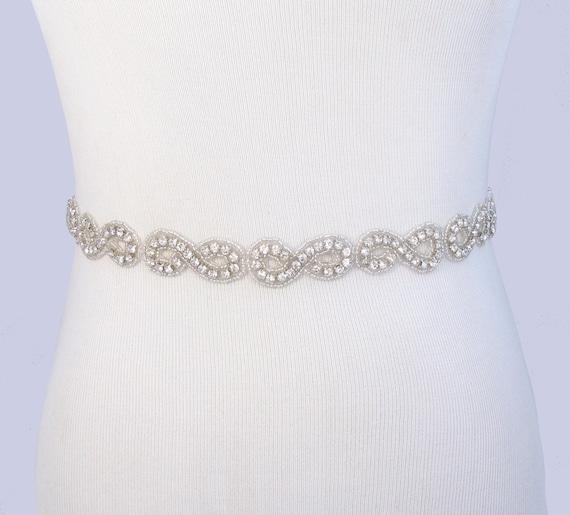items similar to jeweled beaded bridal belt