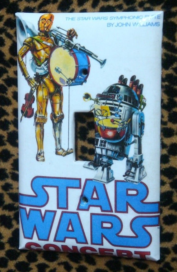 Light Switch Cover Plate Star Wars Concert