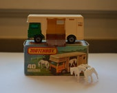 1977 Matchbox Lesney Superfast Horse Box Truck No 40 With Original Box