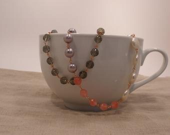 The Pastel Color-Block Necklace