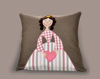 Decorative Princess Pillows : Pink princess pillow Etsy