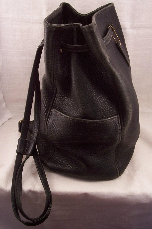 Vintage Coach Sonoma Sling Backpack 4922 in Black Backpack