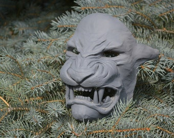 Tezcatlipoca Mask Blank - Jaguar Mask - Resin Casting