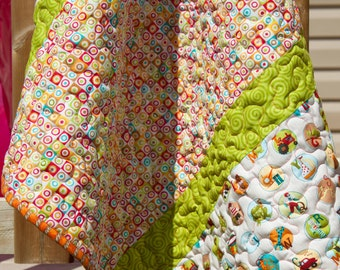I Know My ABCs Baby/Toddler Quilt