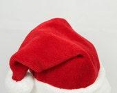 Christmas Santa Hat, Adult Christmas hat, Xlarge santa hat, Santa Claus cap, Toddler Santa hat Traditional santa hat, Girls Kids Children
