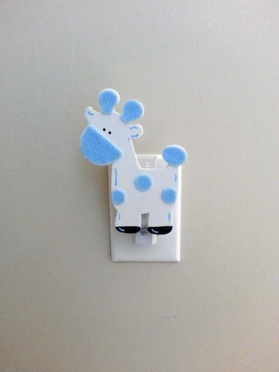 Nursery Night Light Giraffe Night Light Boy Nursery Decor