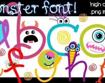 FONTS - Monster Mania