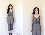 90s D by DKNY Stretch Knit Maxi NWT Dress XS S M