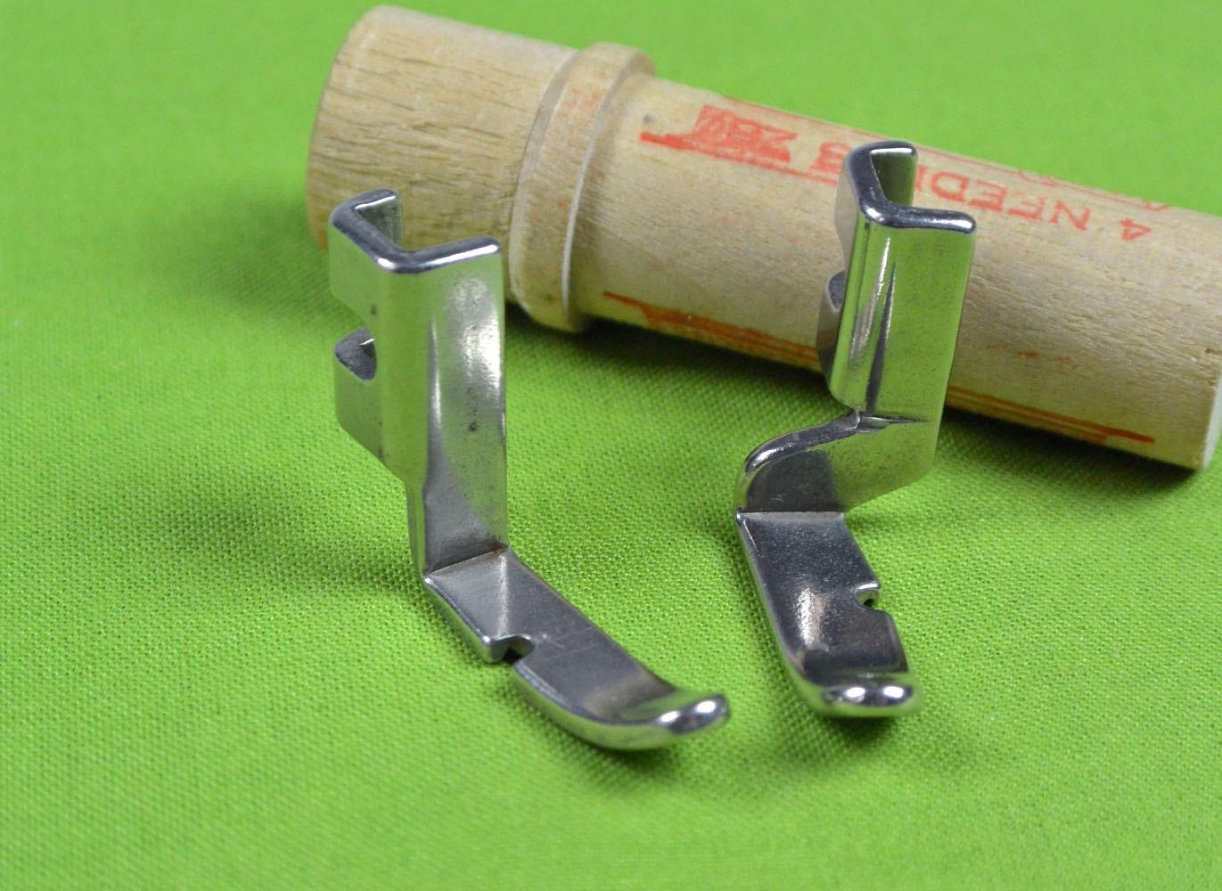 Vintage Singer Left Amp Right Cording Foot Set Singer 221 Sewing