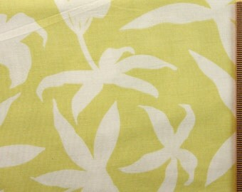 CLEARANCE SALE Joel Dewberry fabric Manzanita Lily JD01 Pear yellow 100% Cotton Free Spirit Sewing quilting cotton fabric by the yard