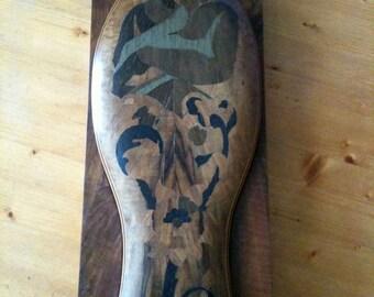 Fantastic Old Wood Inlay Box