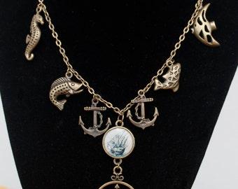 Sailor Charm Necklace