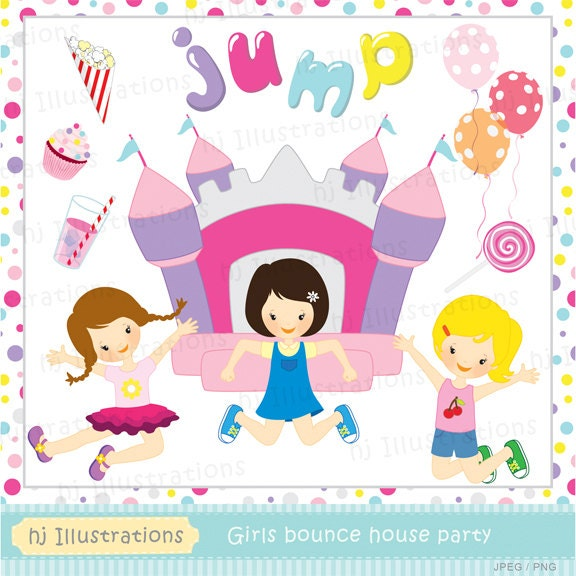 free bounce house clipart - photo #46