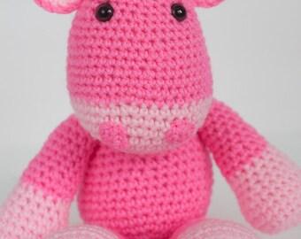Crochet Giraffe Amigurumi Toy (Paisley) - Made to Order