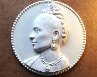 Resin Frida Kahlo Diego Portrait 3d sculpture Wall Decor,free shipping