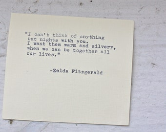 popular items for fitzgerald quote on etsy