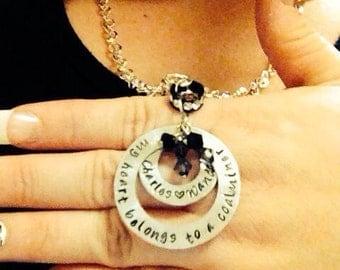 Personalized Coal Miner Jewelry Coalminer Girlfriend Wife Mom