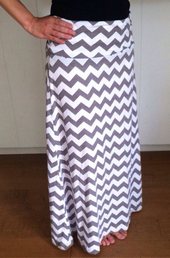 womens chevron maxi skirt sale 15 by j2boutique on etsy