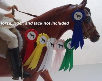 Basic Model Horse Show Ribbon Set