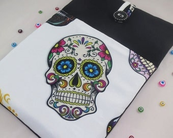 Skull Laptop Case, 13 inch MacBook Pro Case, 13 Inch Laptop Sleeve, MacBook Air Case 13 inch , Computer Case, Laptop 13 Sleeve