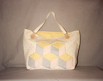 Baby Blocks Quilted Bag Pattern