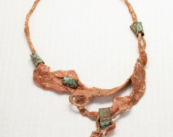 d e l e s s e r i a. copper art jewelry