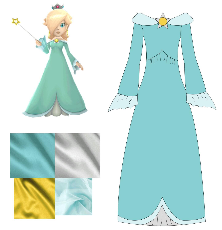 Princess Rosalina Costume For Kids Princess Rosalina Cost...