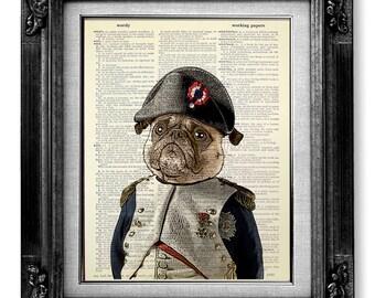 Pug Art Etsy