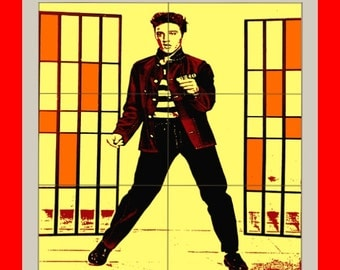 Elvis Presley THE King jailhouse rock Colorful  Poster print art  HH10502 S38