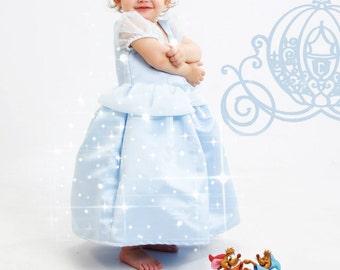 Cinderella Princess Toddler Dress