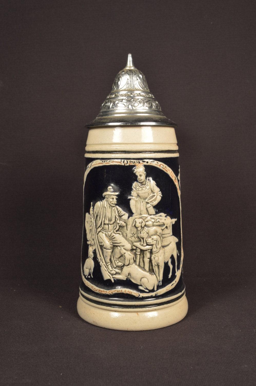 German Beer Stein Tankard Mug Antique Albert Jacob Thewalt