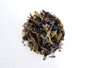 Scottish Mist Tea | Organic White Loose Leaf Tea | Blueberry And Heather Tea