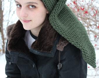 Zelda Hat Knitting Pattern : Legend of Zelda inspired Link Hat