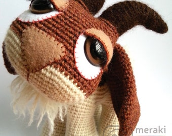 Hopscotch the Goat - Amigurumi
