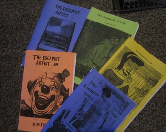 The Escapist Artist ZINE PACK #2