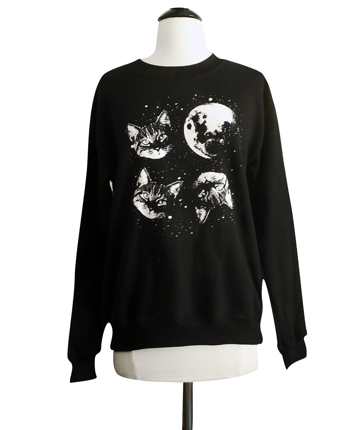 Buy Two Moon Japan Japanese Sweatshirt, Size: L, Description: Retail $ usd -- Fits on the medium side of large. Up for sale is a navy made in Japan Two Moon crew neck sweatshirt. This is a raglan sleeve (freedom movement) crew neck sweat.