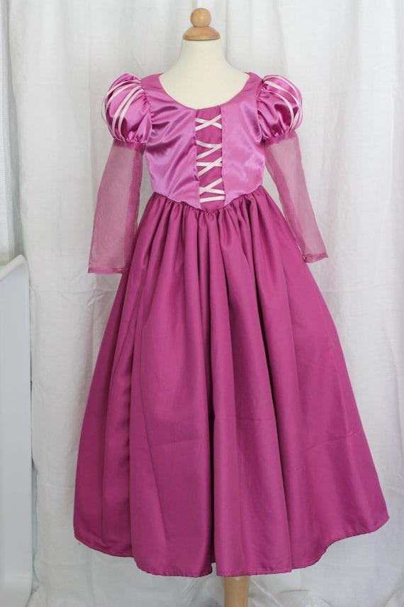 Raspberry Renaissance Princess Dress