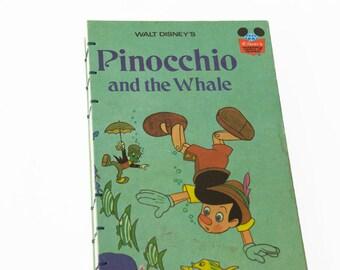 1977 PINOCCHIO Vintage Notebook Journal