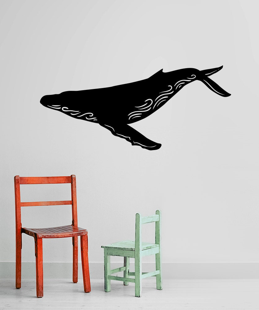 Vinyl Wall Decal Sticker Humpback Whale Os Mb1101s