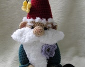 Crochet Pattern Gnome by Teri Crews Wool and Whims Instant Download PDF Format Crochet Toy Pattern