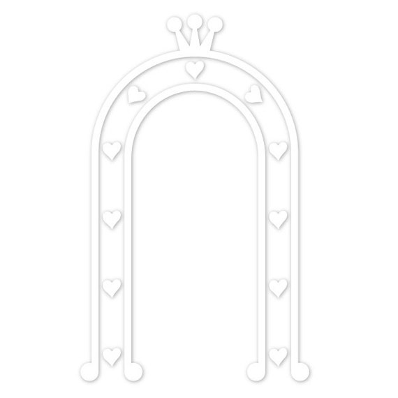 Princess arbor wall stencil for painting kids or baby room for Disney wall stencils for painting kids rooms