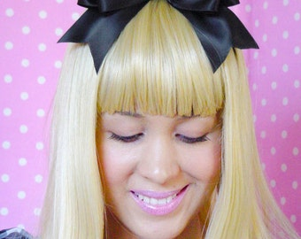 Alice in Wonderland Bow Alice in Wonderland Hair Clip Alice in Wonderland Hair Bow Alice Bow Alice Headband perfect for cosplay costumes