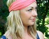 Coral Knit Turban Wrap Headband