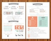 Info Graphic Wedding Program